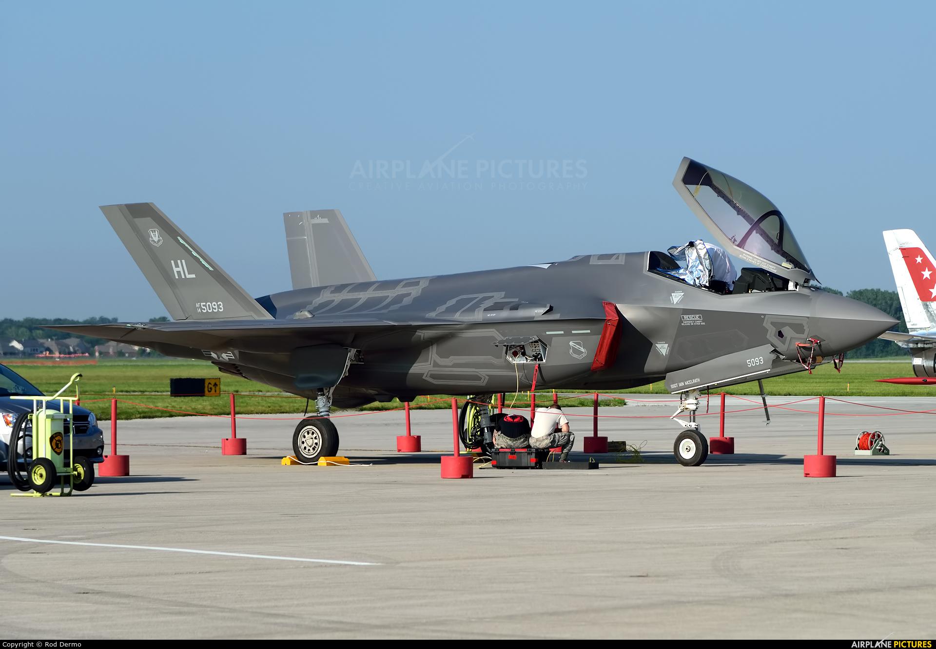 USA - Air Force 14-5093 aircraft at Selfridge ANGB
