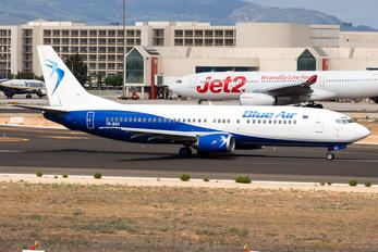YR-BAO - Blue Air Boeing 737-400