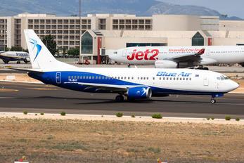 YR-BAO - Blue Air Boeing 737-400
