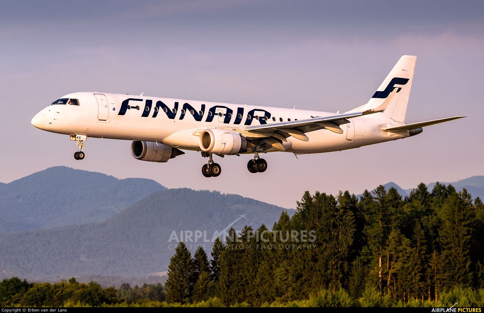 Finnair OH-LKK aircraft at Ljubljana - Brnik