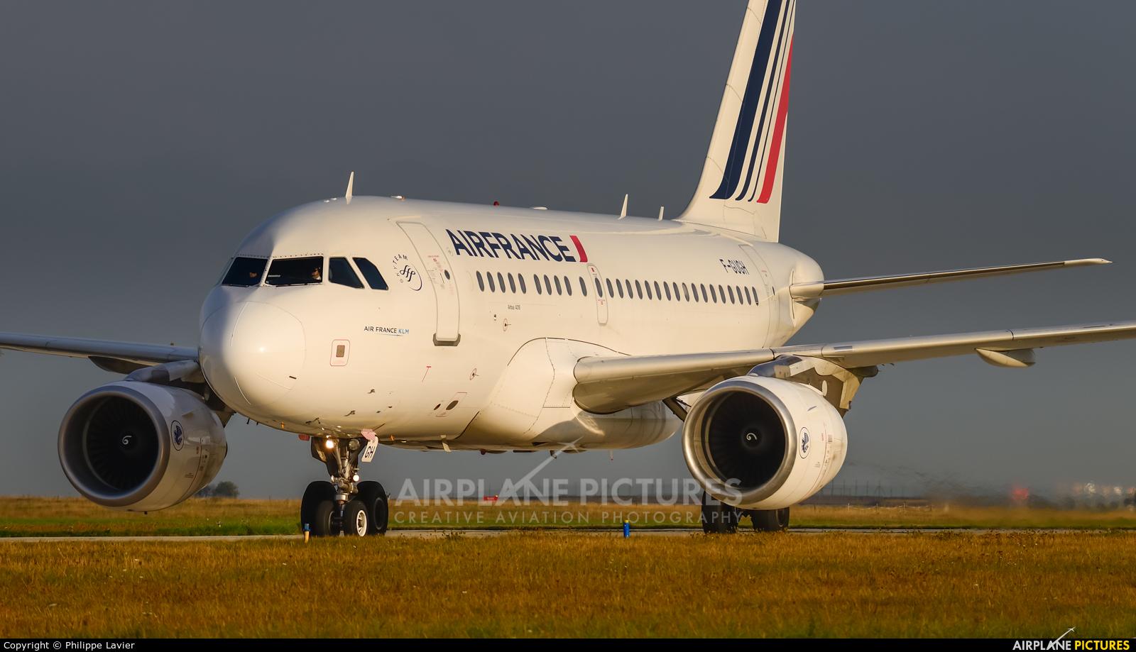 Air France F-GUGH aircraft at Paris - Charles de Gaulle