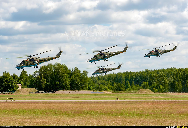 Belarus - Air Force 14 aircraft at Minsk Machulishchi