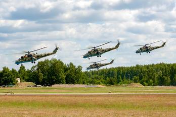 14 - Belarus - Air Force Mil Mi-24P