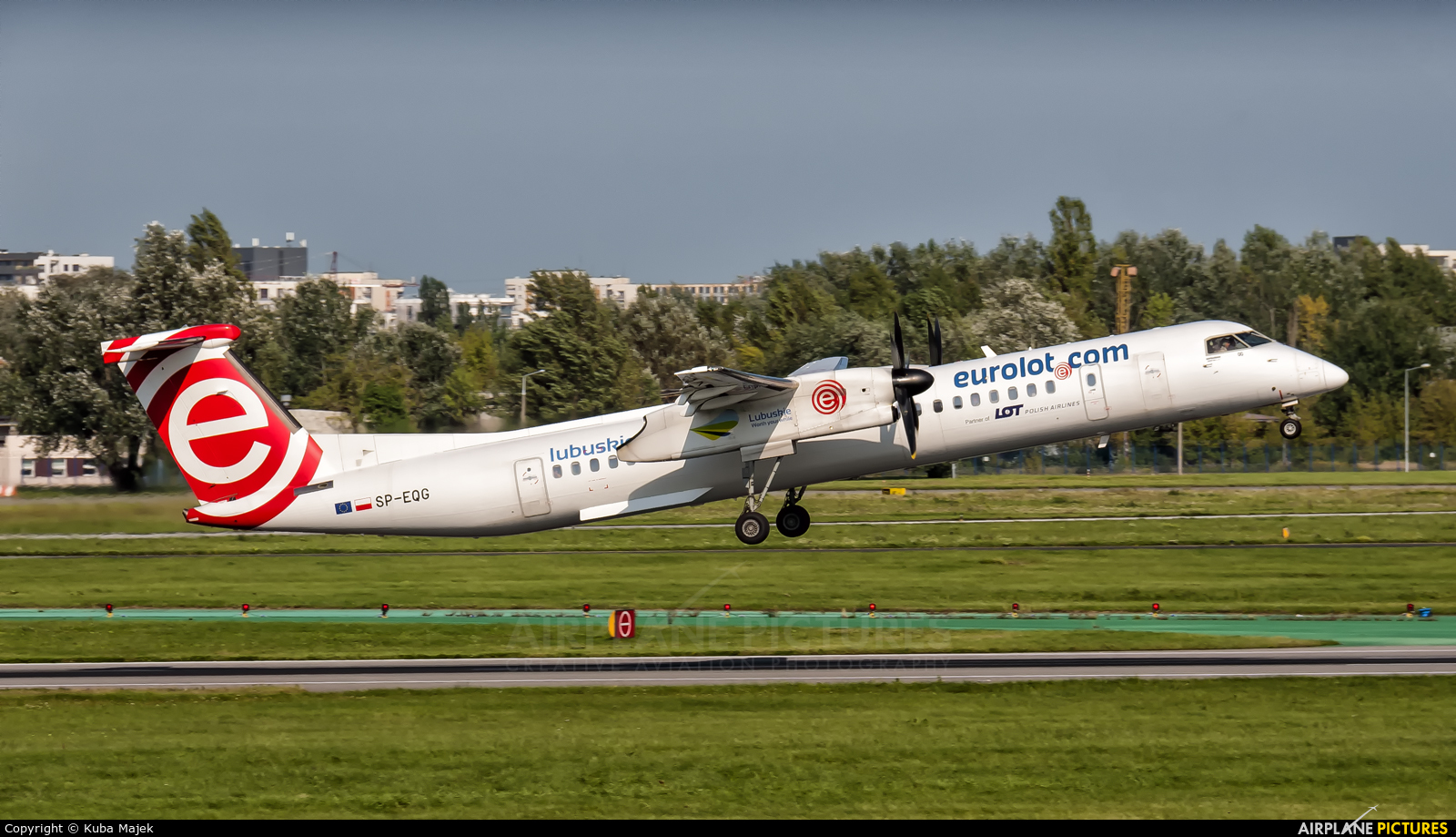 LOT - Polish Airlines SP-EQG aircraft at Warsaw - Frederic Chopin