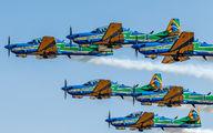 """5719 - Brazil - Air Force """"Esquadrilha da Fumaça"""" Embraer EMB-314 Super Tucano A-29A aircraft"""