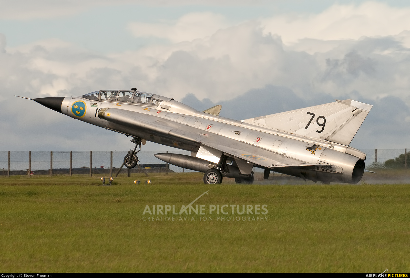 Swedish Air Force Historic Flight SE-DXP aircraft at Scampton