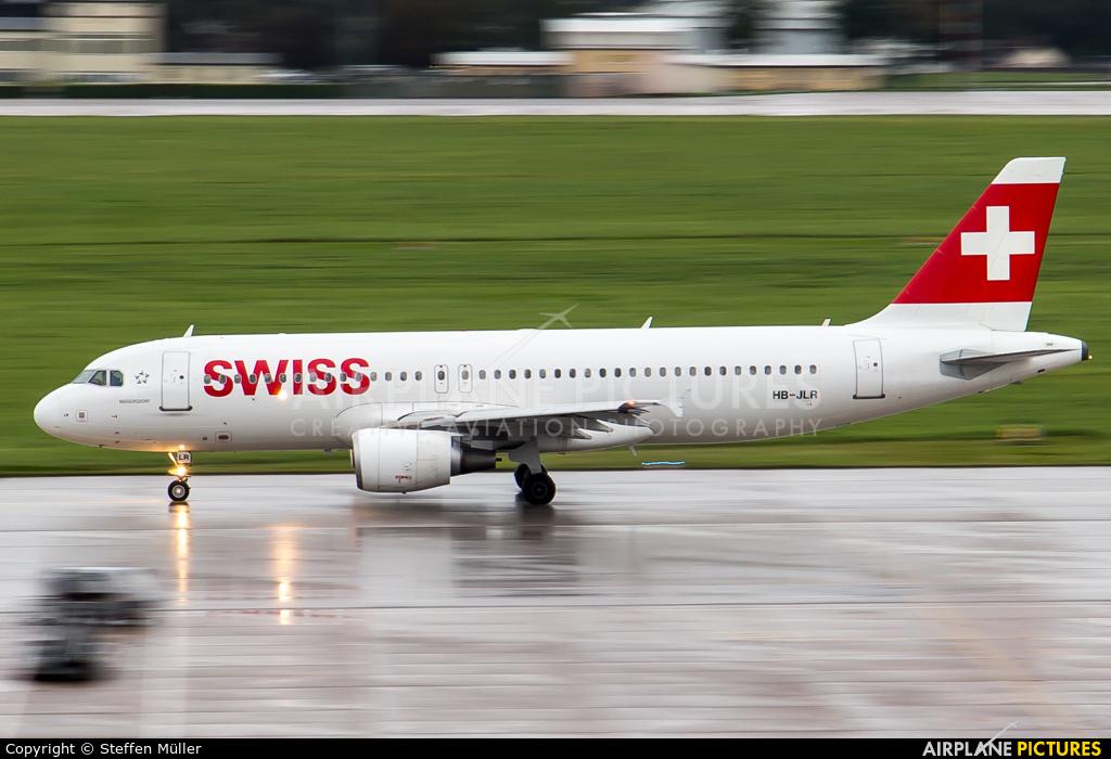 Swiss HB-JLR aircraft at Stuttgart