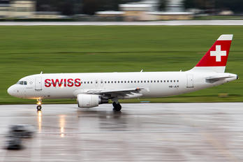 HB-JLR - Swiss Airbus A320