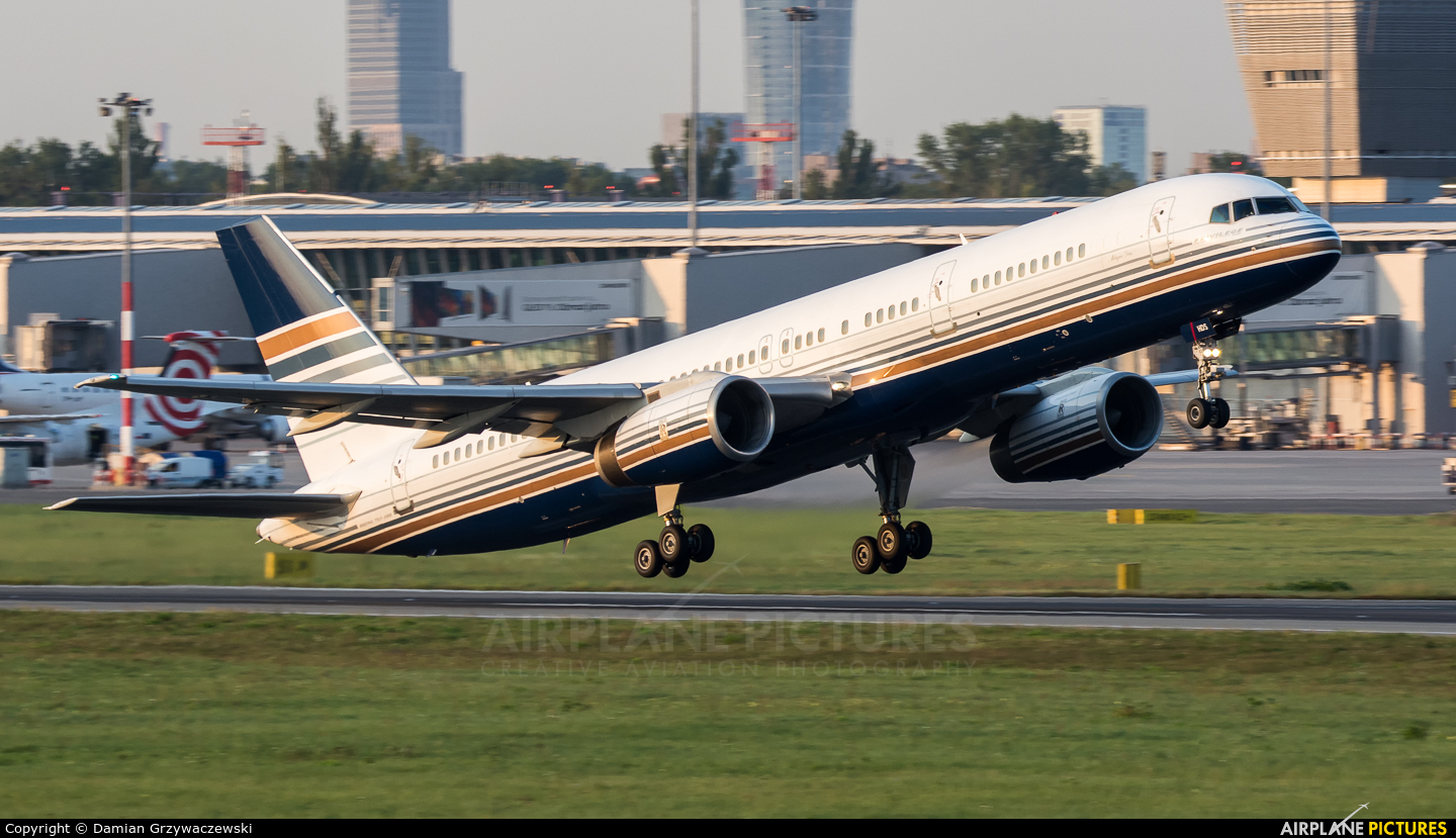 Privilege Style EC-HDS aircraft at Warsaw - Frederic Chopin
