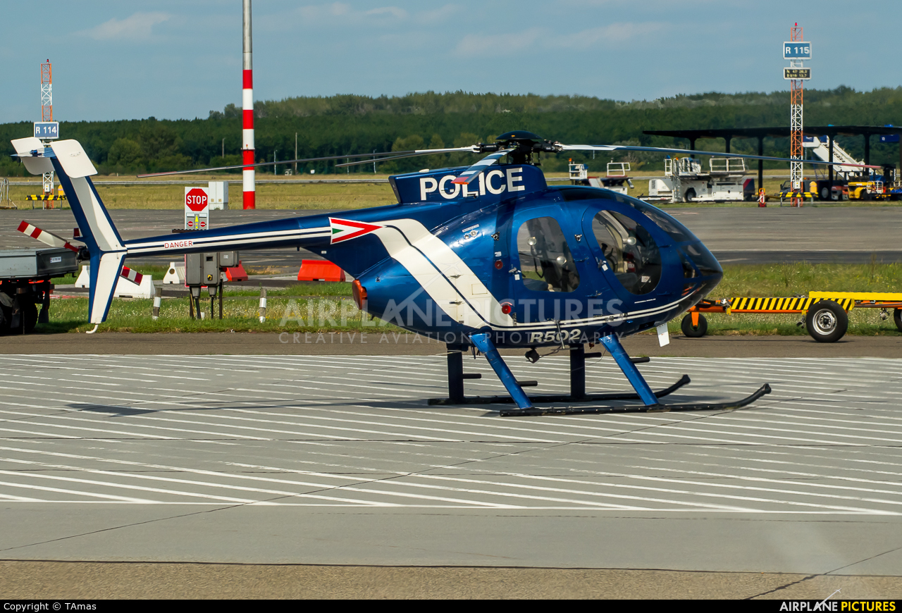 Hungary - Air Force R502 aircraft at Budapest - Ferihegy