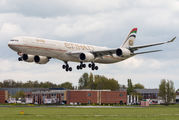 A6-EHL - Etihad Airways Airbus A340-600 aircraft