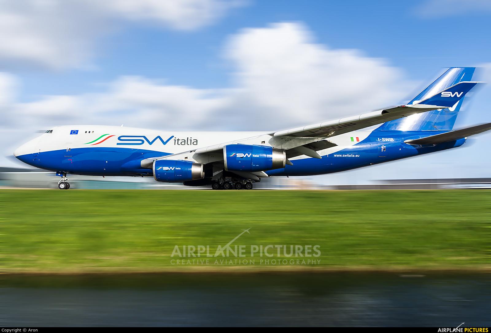 Silk Way Italia I-SWIB aircraft at Amsterdam - Schiphol