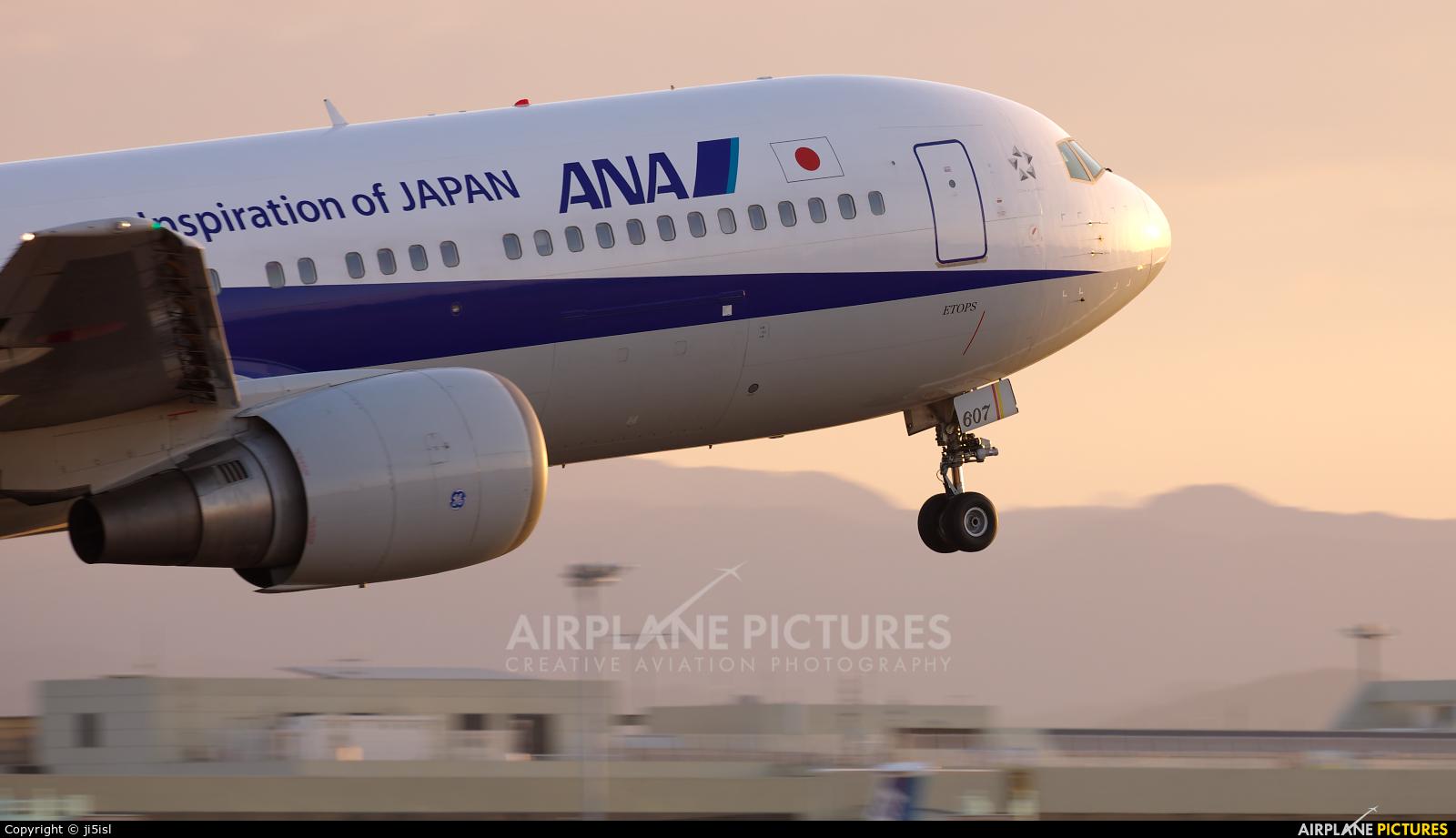 ANA - All Nippon Airways JA607A aircraft at Kōchi
