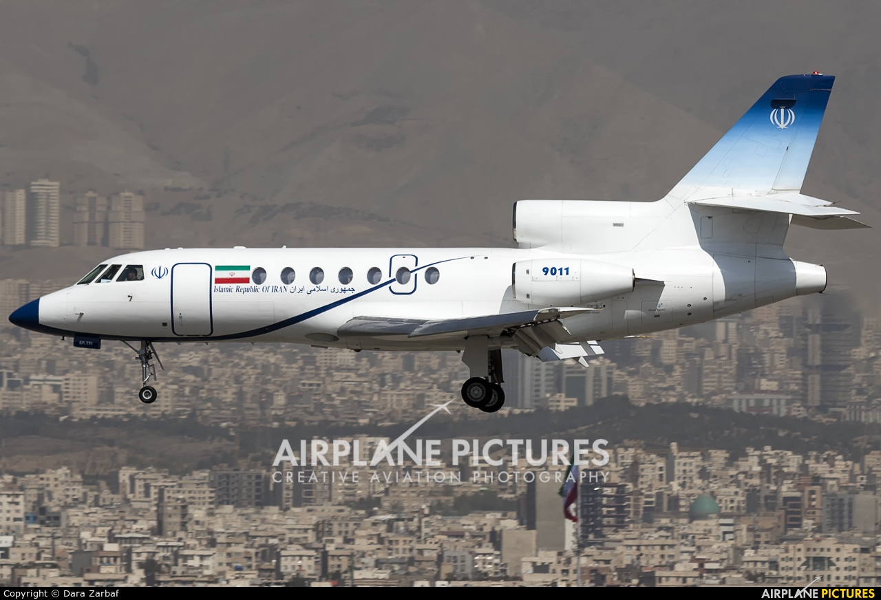 Iran - Government EP-TFI aircraft at Tehran - Mehrabad Intl