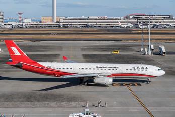 B-6096 - Shanghai Airlines Airbus A330-300