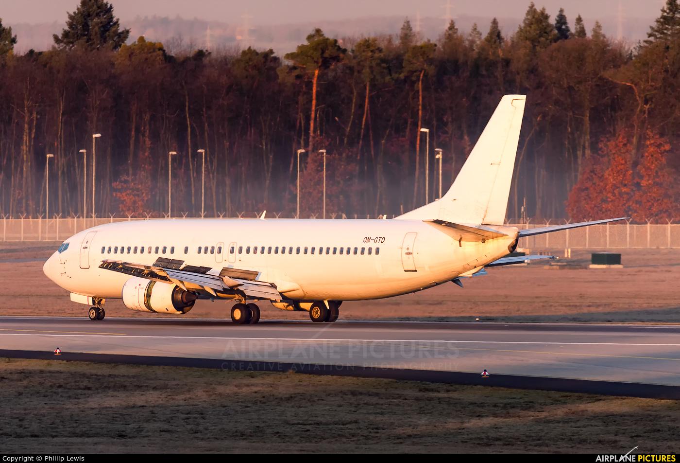 Go2Sky Airline OM-GTD aircraft at Frankfurt