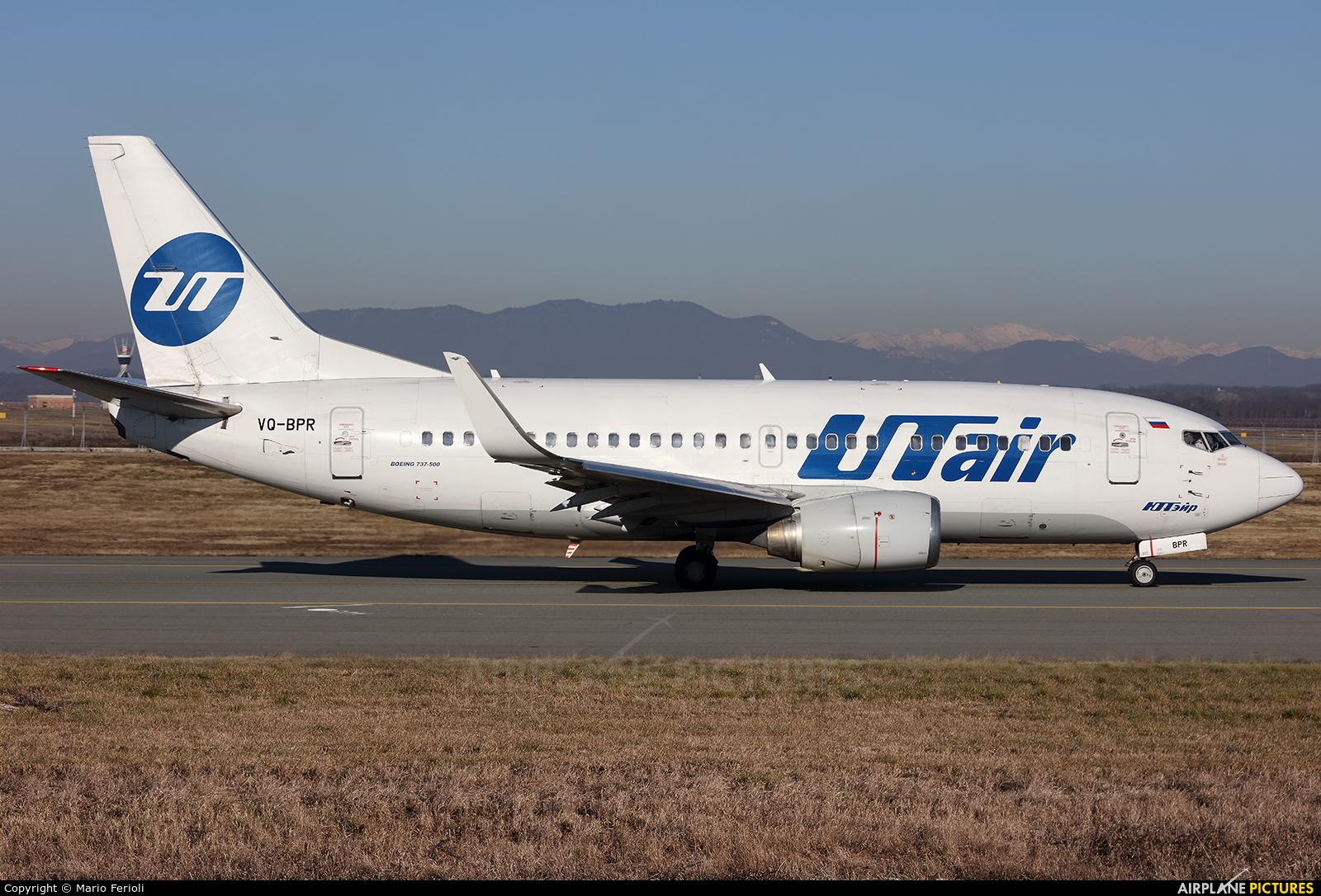 UTair VQ-BPR aircraft at Milan - Malpensa