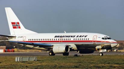 LN-BRF - Braathens SAFE Boeing 737-500