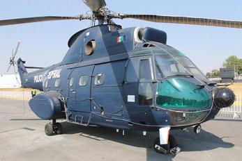 PF-301 - Mexico - Police Aerospatiale SA-330 Puma