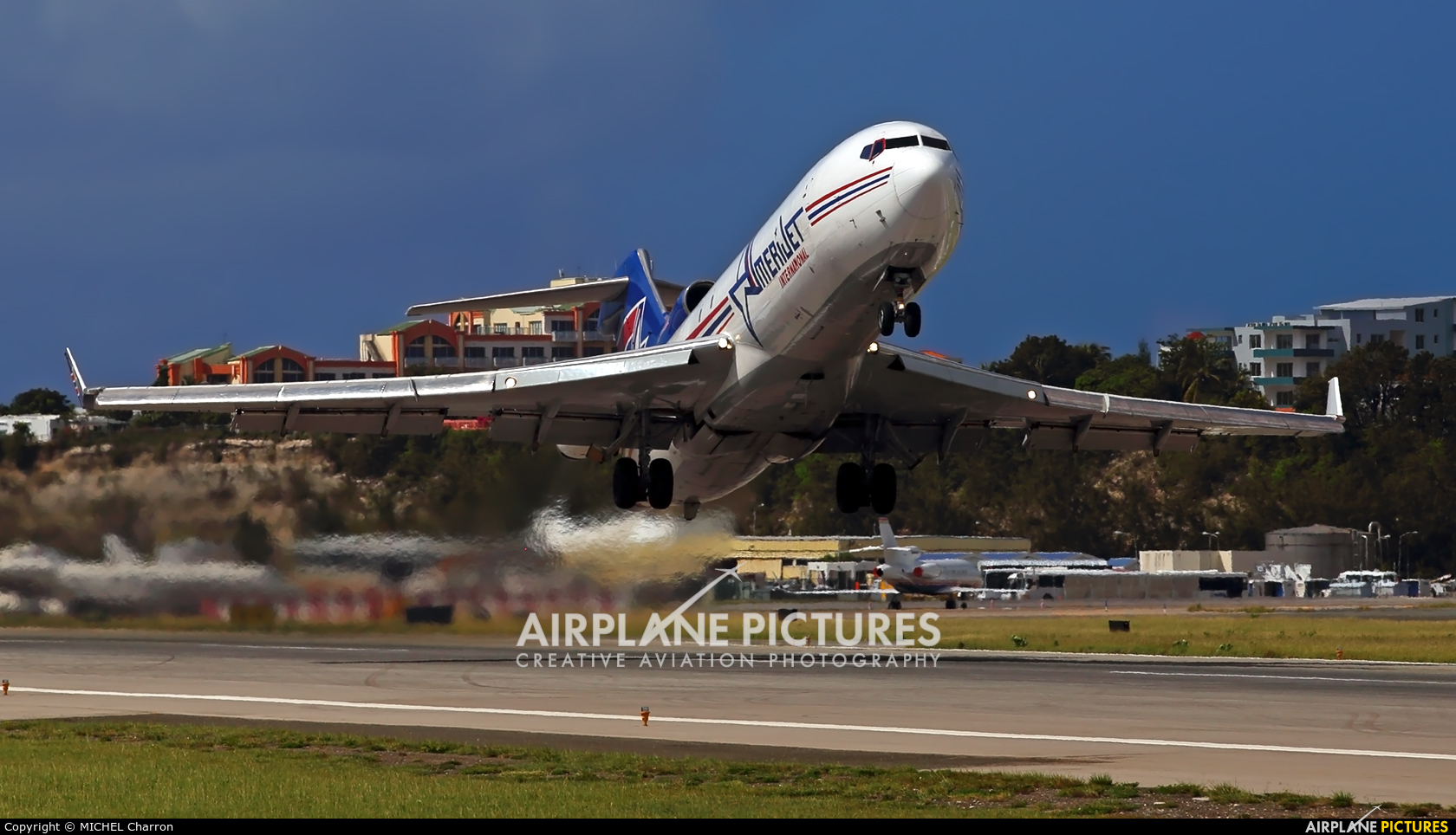 Amerijet International N495AJ aircraft at Sint Maarten - Princess Juliana Intl