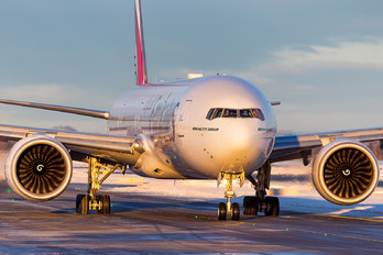 A6-EBP - Emirates Airlines Boeing 777-300ER