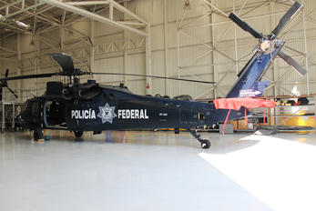PF-105 - Mexico - Police Sikorsky UH-60L Black Hawk