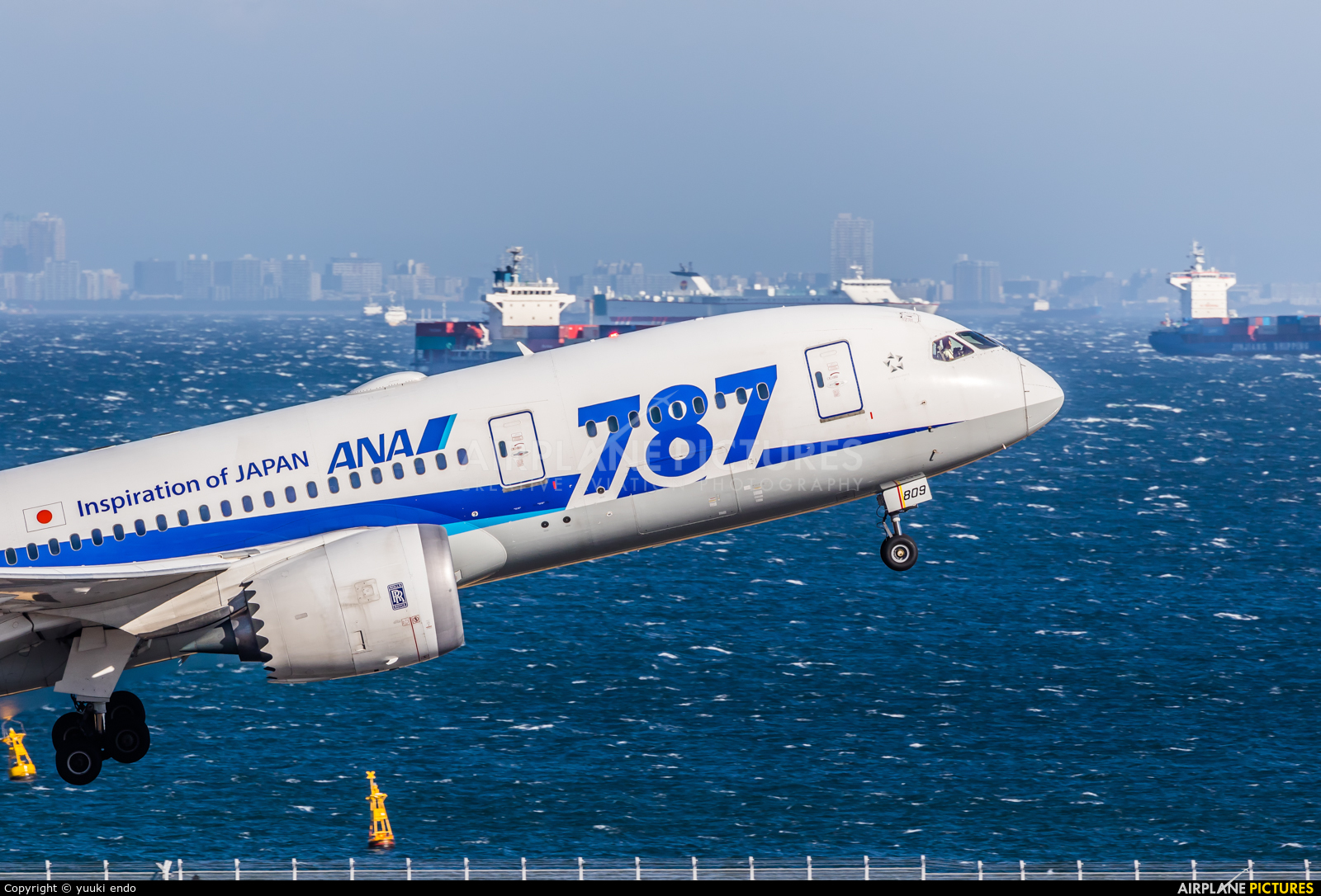 - Airport Overview JA809A aircraft at Tokyo - Haneda Intl