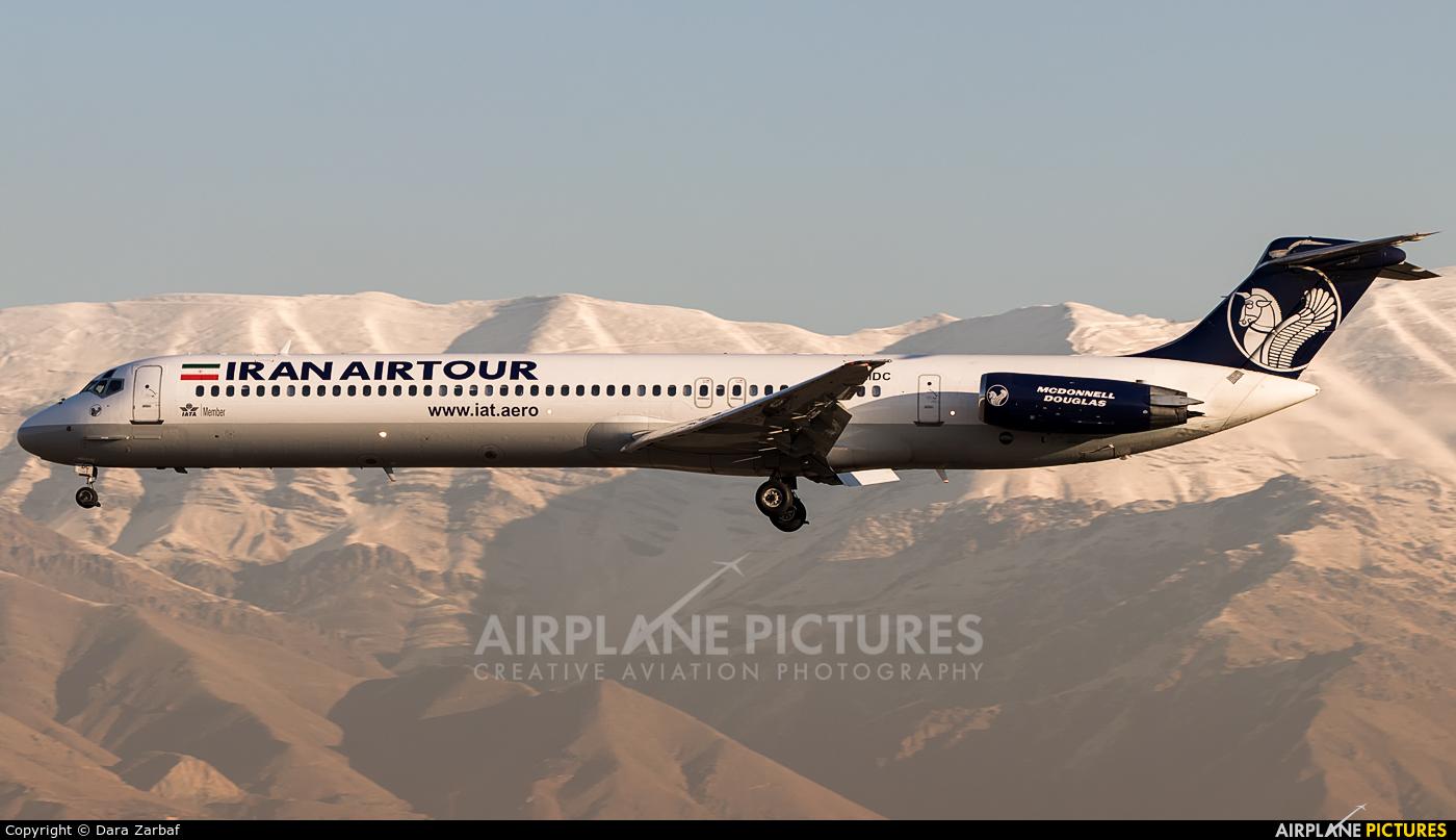 Iran Air Tours EP-MDC aircraft at Tehran - Mehrabad Intl