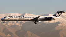New livery of Iran Air Tours MD-82 title=