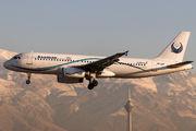EP-APF - Iran Aseman Airbus A320 aircraft