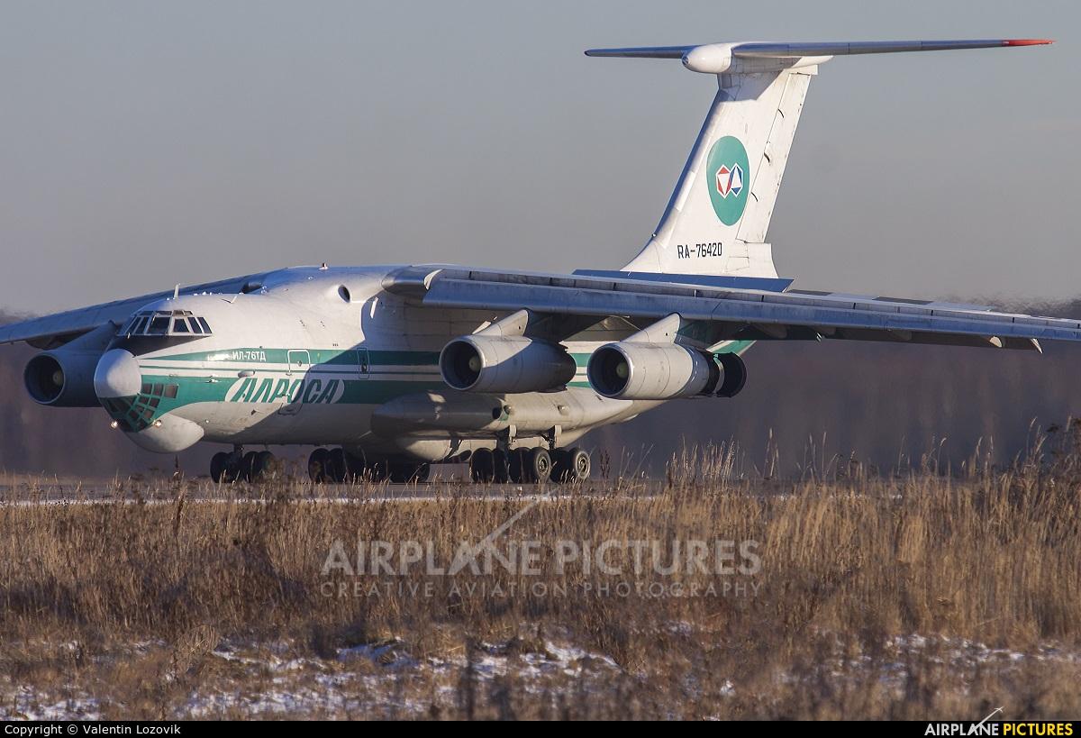 Alrosa RA-76420 aircraft at Moscow - Domodedovo