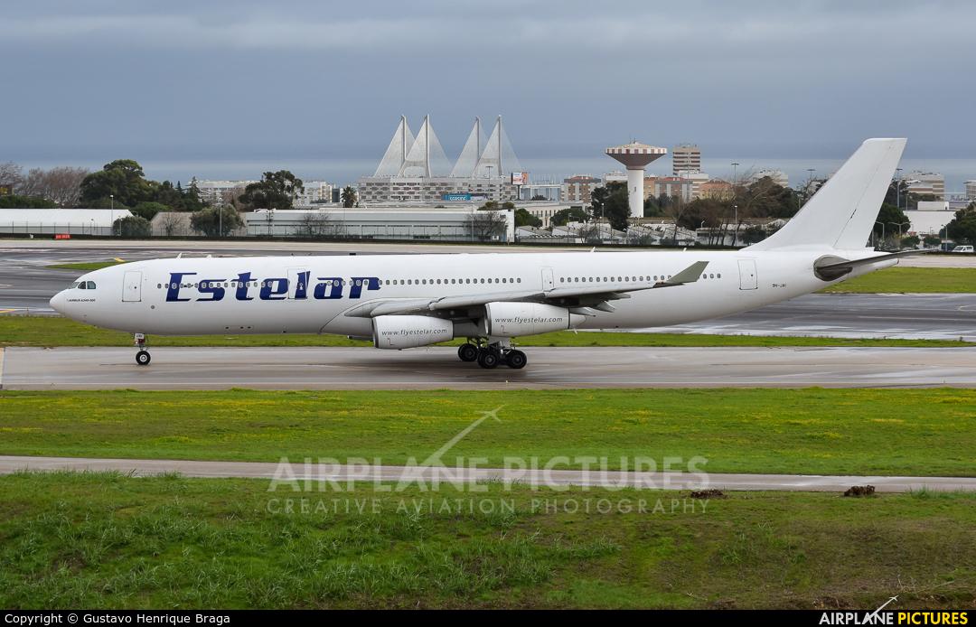 Hi Fly Malta 9H-JAI aircraft at Lisbon