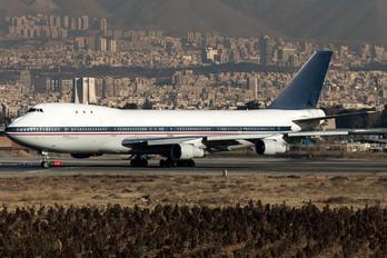 EP-CQB - Iran - Islamic Republic Air Force Boeing 747-100