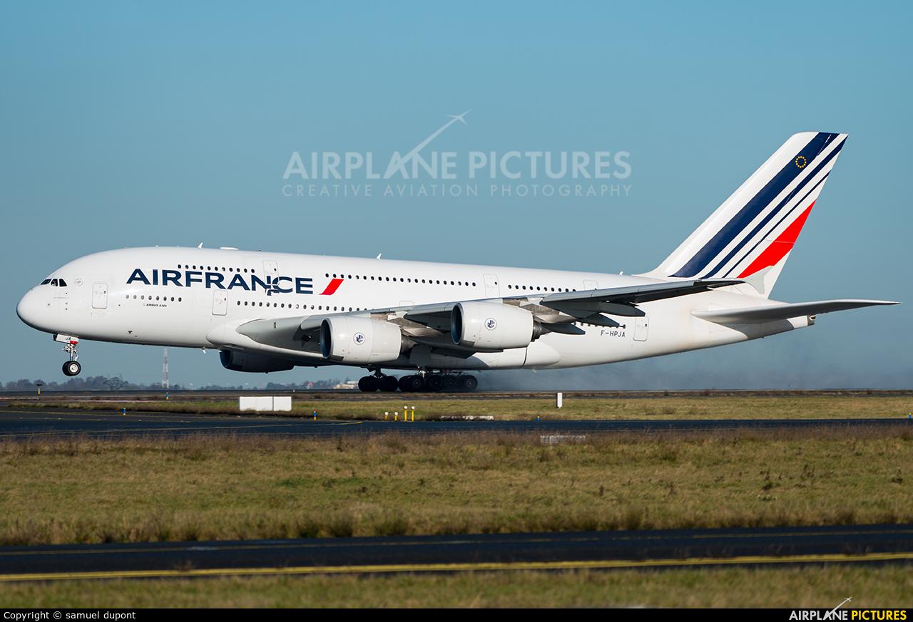 Air France F-HPJA aircraft at Paris - Charles de Gaulle