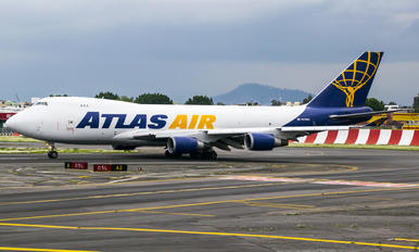 N418MC - Atlas Air Boeing 747-400F, ERF