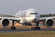 A7-BAQ - Qatar Airways Boeing 777-300ER aircraft