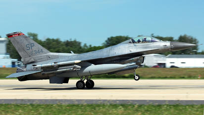 91-0344 - USA - Air Force Lockheed Martin F-16CJ Fighting Falcon