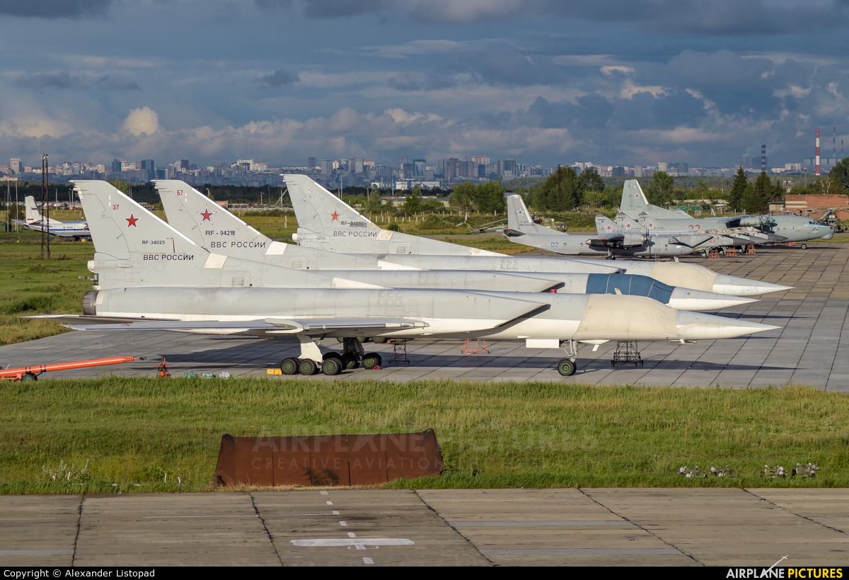 Russia - Air Force RF-34025 aircraft at Novosibirsk