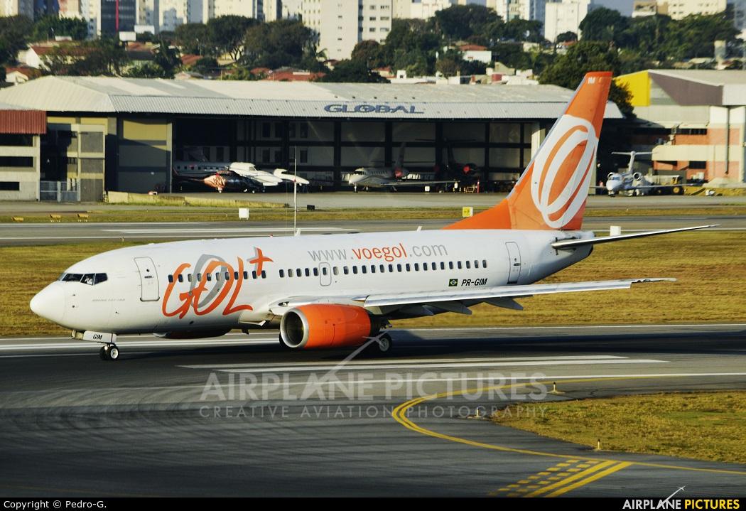 GOL Transportes Aéreos  PR-GIM aircraft at São Paulo - Congonhas