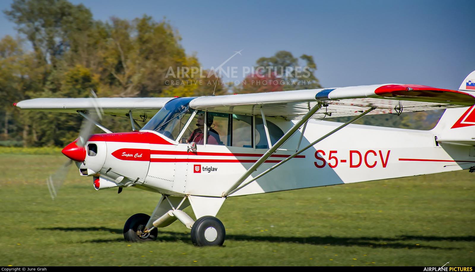 Aeroklub Murska Sobota S5-DCV aircraft at Murska Sobota