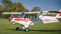 S5-DCV - Aeroklub Murska Sobota Piper PA-18 Super Cub aircraft