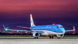 KLM Cityhopper Embraer ERJ-190 (190-100) PH-EZM at Zagreb airport