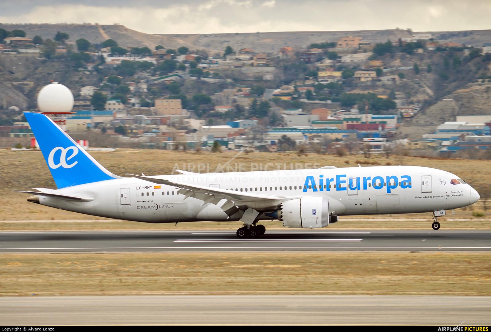Air Europa EC-MMY aircraft at Madrid - Barajas