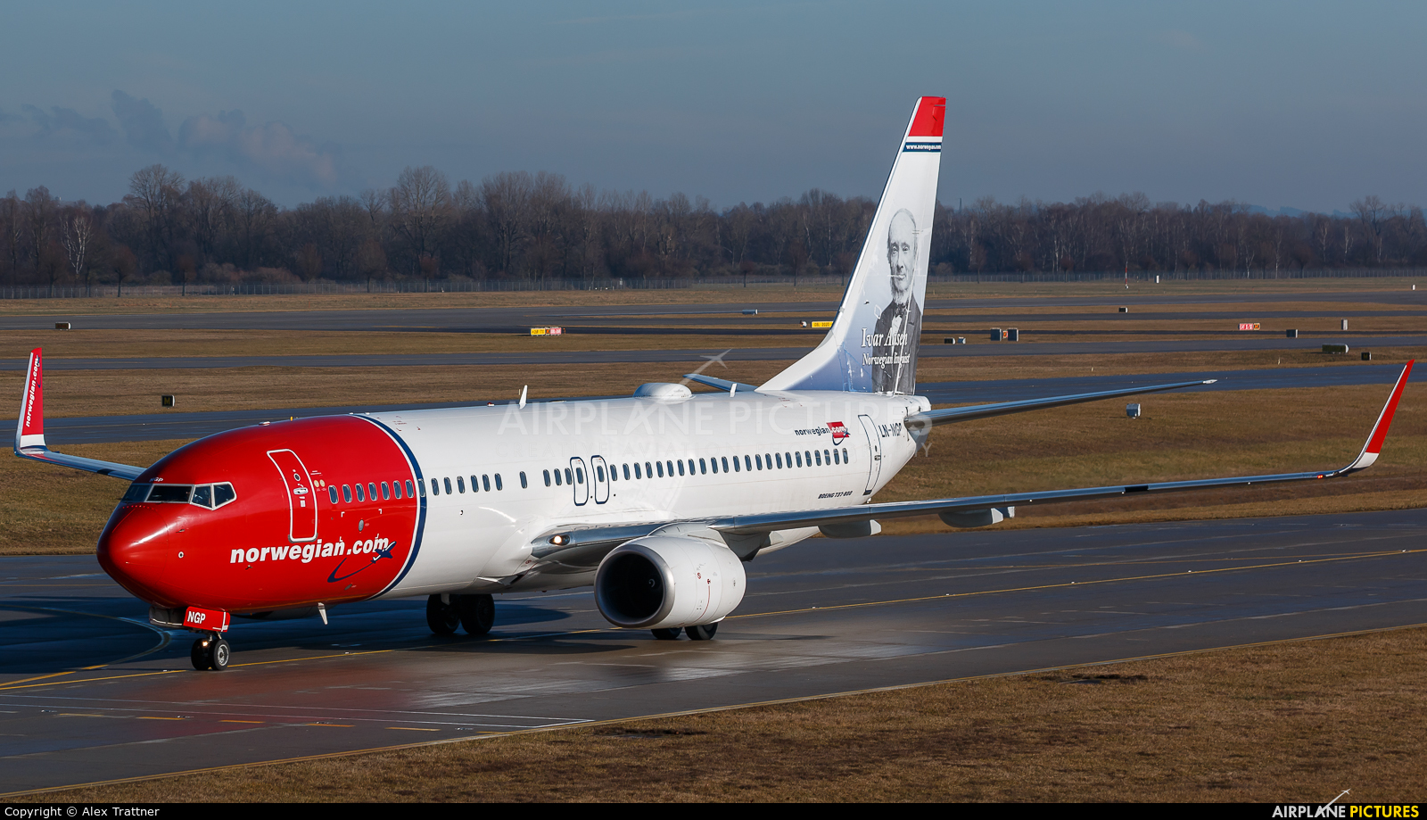 Norwegian Air Shuttle LN-NGP aircraft at Munich