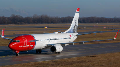 LN-NGP - Norwegian Air Shuttle Boeing 737-800
