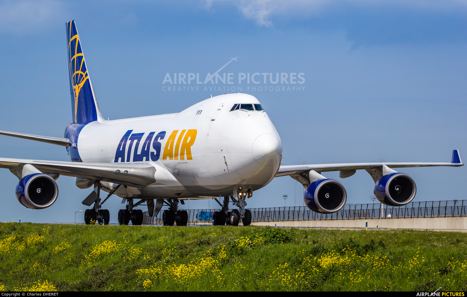 Atlas Air N497MC aircraft at Amsterdam - Schiphol