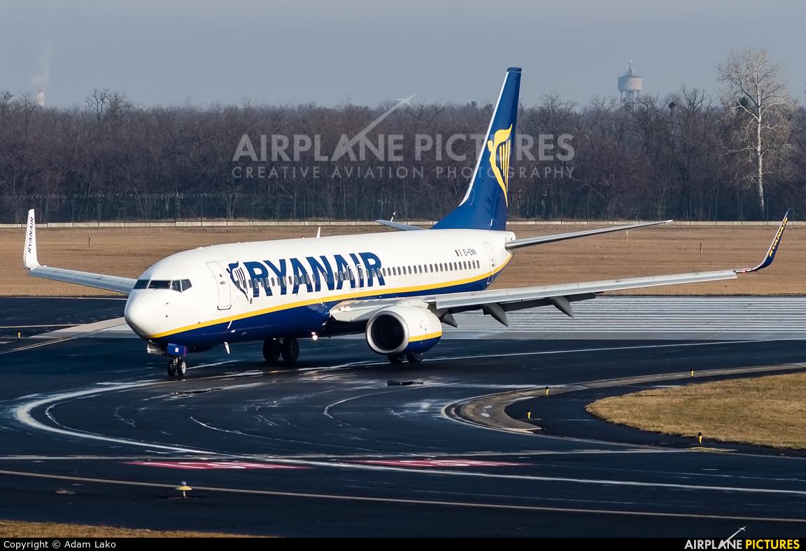 Ryanair EI-ENN aircraft at Budapest Ferenc Liszt International Airport