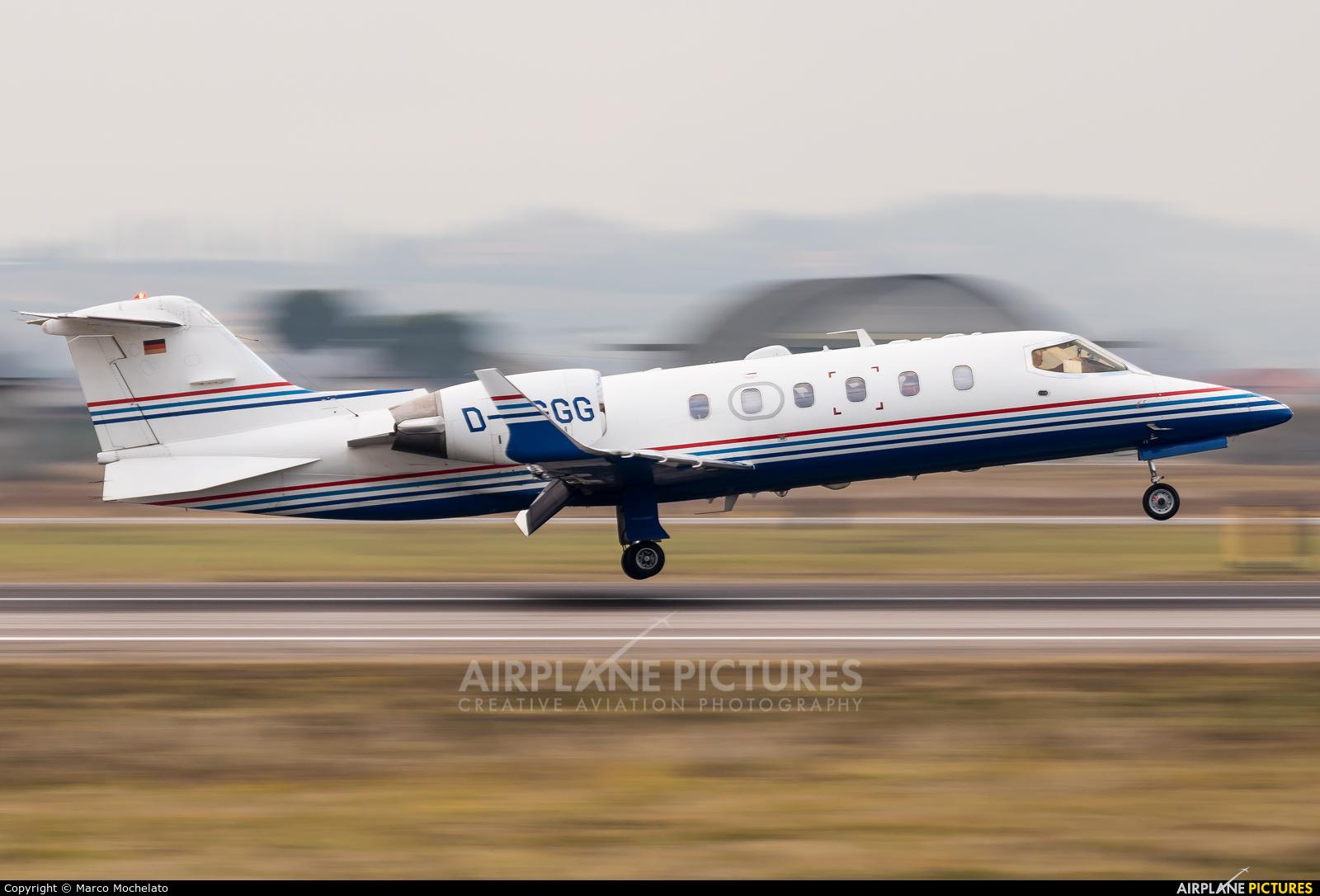 Private D-CGGG aircraft at Verona - Villafranca