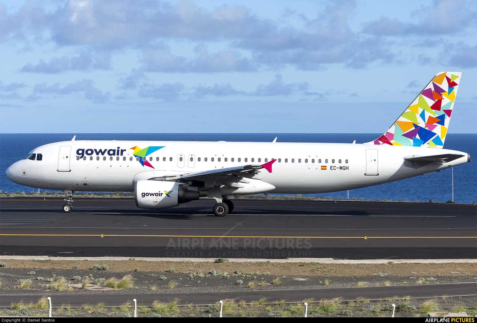Gowair Airlines EC-MQH aircraft at Santa Cruz de La Palma