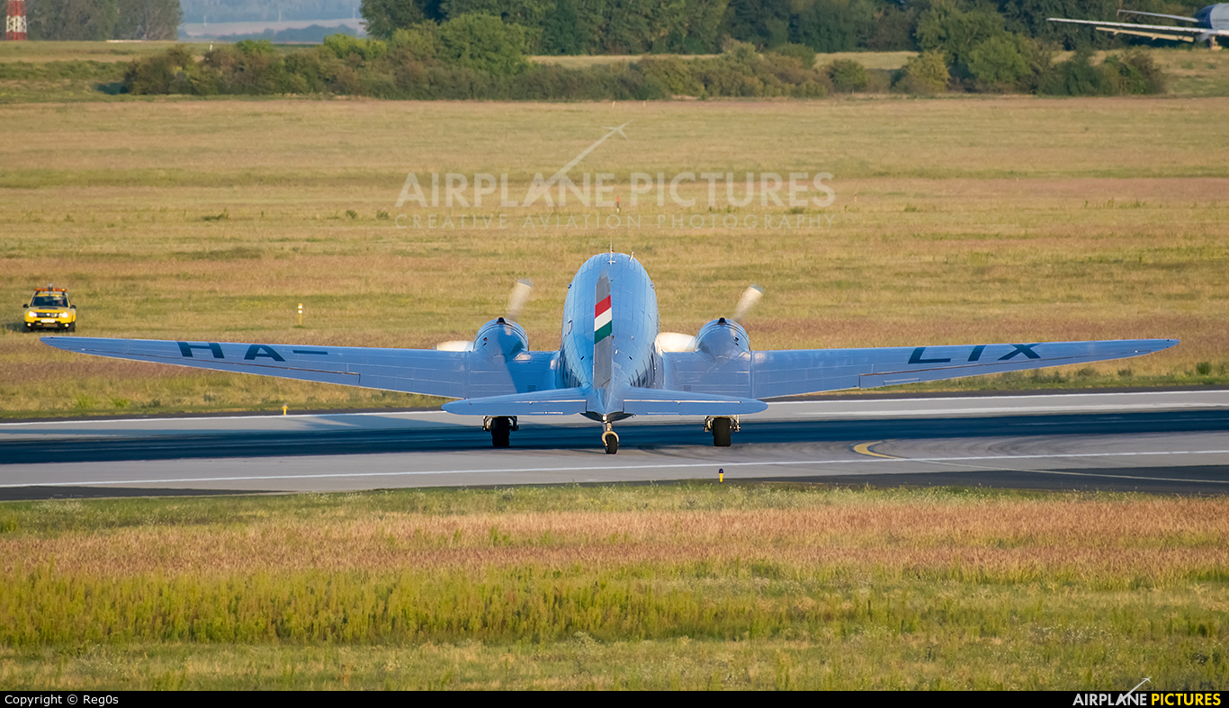 Malev Sunflower Aviation (Gold Ttimer Foundation) HA-LIX aircraft at Budapest Ferenc Liszt International Airport